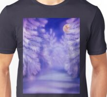 White winter forest Unisex T-Shirt