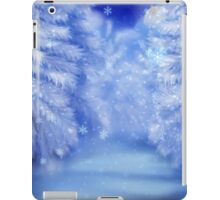 White winter forest 2 iPad Case/Skin