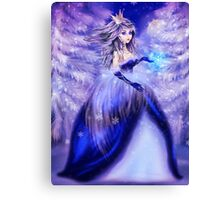 Winter princess Canvas Print