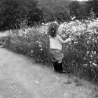picking wild flowers by JessieMac