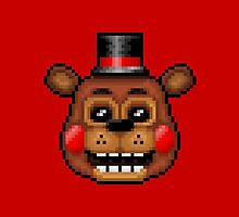 Five Nights at Freddy's 2 - Pixel art - Toy Freddy by GEEKsomniac