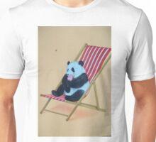 panda enjoying an ice cream Unisex T-Shirt