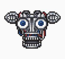 Five Nights at Freddy's 2 - Pixel art - Endoskeleton Kids Clothes