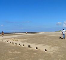 Brancaster Beach Norfolk by linsads