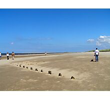 Brancaster Beach Norfolk Photographic Print