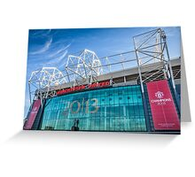 Old Trafford, Manchester Greeting Card