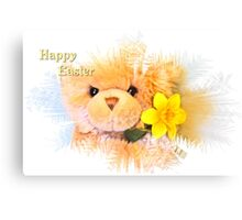 Happy Easter Greetings  Canvas Print