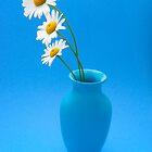 oh so blue by James Edward Olson