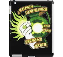 Green Lantern Tattoo Flash iPad Case/Skin