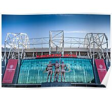 The United Trinity, Old Trafford Poster