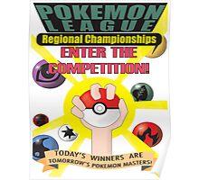 Pokémon League Regional Championships Poster