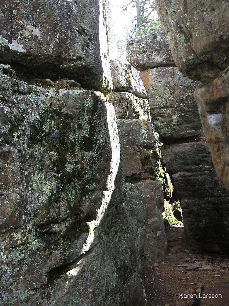 Rock Maze 2 by Karen Larsson