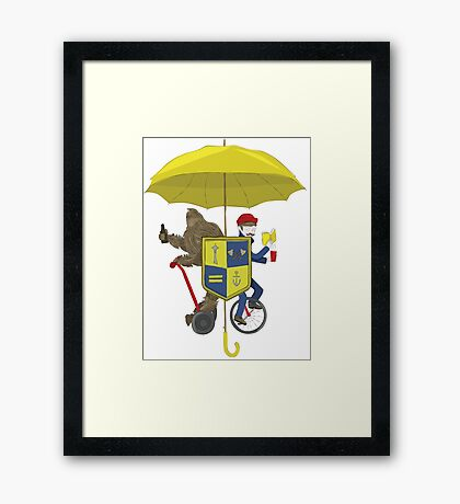 Seattle Coat of Arms Framed Print