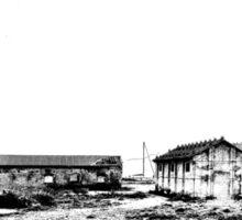 Island Caprera: military archeology Sticker