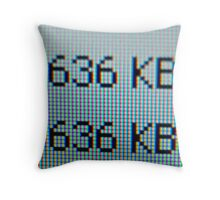 636kb Throw Pillow