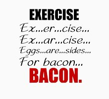 EXERCISE FOR BACON Tank Top