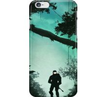 Off the Rock, Through the Bush, Nothing but Jackal iPhone Case/Skin