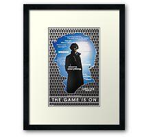 Sherlock: Series One Framed Print