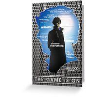Sherlock: Series One Greeting Card