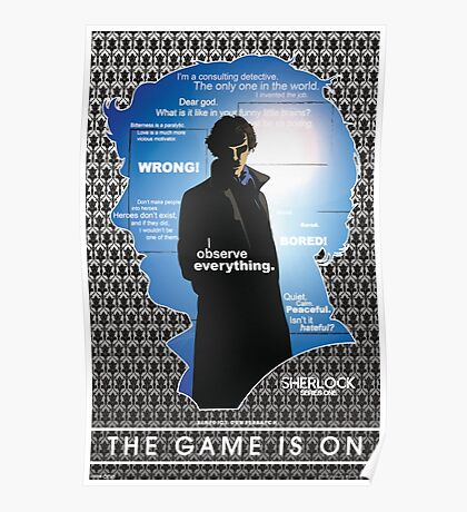 Sherlock: Series One Poster