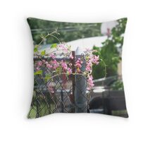 Peaceful Vine Throw Pillow
