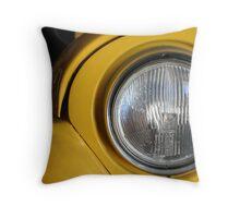 Round light Throw Pillow