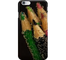 Coloured Pencils and Bubbles iPhone Case/Skin