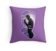 Sherlock: Series Two Throw Pillow