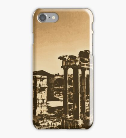 Whispers from the Past - Rome  iPhone Case/Skin