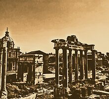 Whispers from the Past - Rome  by Andrea Mazzocchetti