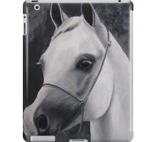 equestrian silver iPad Case/Skin