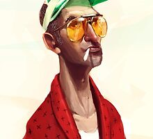 Hunter S . Thompson by Luca Boni by LucaBoni