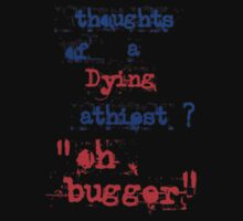 thoughts of a dying athiest? by malcolm  porter