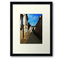 Blue Skys Above Framed Print