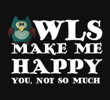 Owls make me happy. You, not so much.  by rayemond
