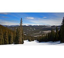 Slopes Photographic Print