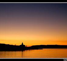 Sunset In Makarska by Frane Herceg