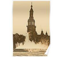 Sevilla - Plaza de Espana  Poster