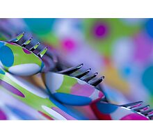 Forks and Spoons! Photographic Print