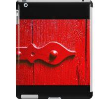 Red Door Texture iPad Case/Skin