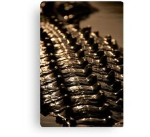 Crocodile scales Canvas Print
