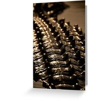Crocodile scales Greeting Card