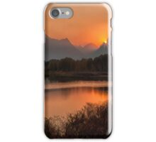 Oxbow Evening iPhone Case/Skin