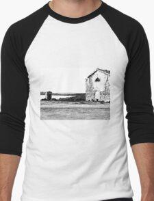 Island Caprera: military archeology Men's Baseball ¾ T-Shirt