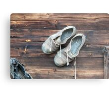 Nail your shoes to the cabin wall Metal Print