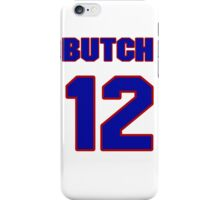 National baseball player Butch Henline jersey 12 iPhone Case/Skin