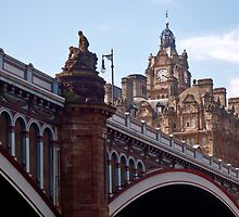 North Bridge / Balmoral Hotel by Andrew Ness - www.nessphotography.com