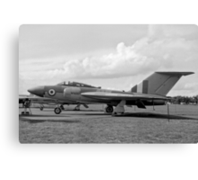 Gloster Javelin 4th prototype WT830 Canvas Print