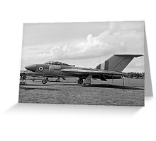Gloster Javelin 4th prototype WT830 Greeting Card