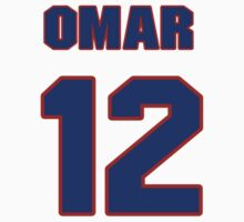 National baseball player Omar Infante jersey 12 by imsport